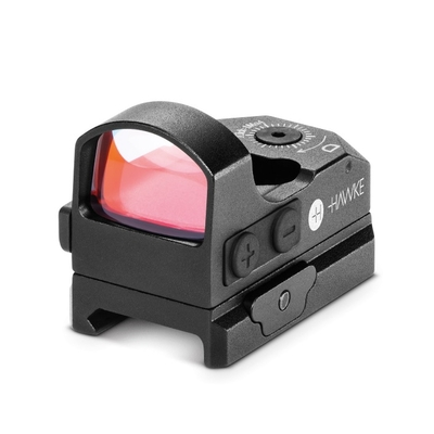 Point Rouge HAWKE Reflex 3 MOA pour fixation sur rail Weaver/Picatinny (digital control)