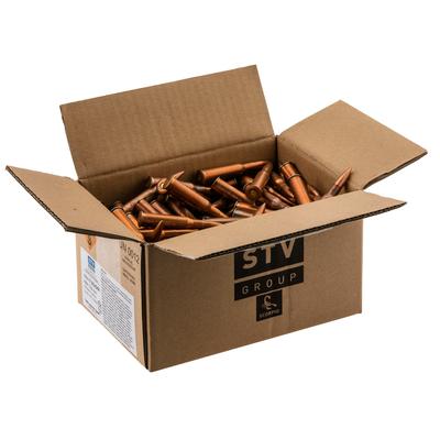 Cartouches STV 7,62x54R  148 grains FMJ  (carton de 300)