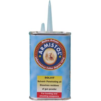 Burette Solvant poudre noire ARMISTOL Solvit (120 ml)