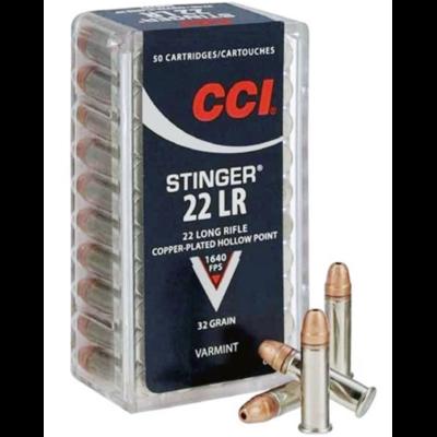 Cartouches CCI Stinger  .22LR