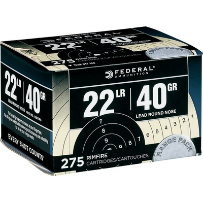 Cartouches FEDERAL Range Pack  .22LR /275