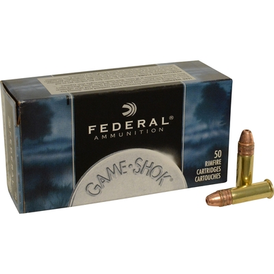 Cartouches FEDERAL GameShok HP  .22LR