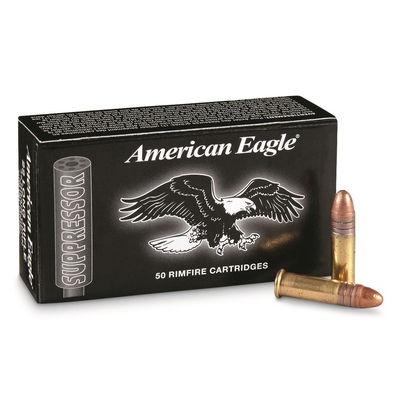 Cartouches AMERICAN EAGLE Suppressor  .22LR