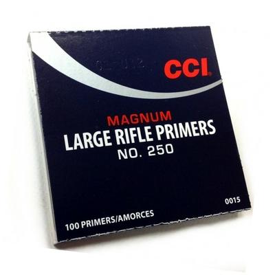 Amorces CCI 250 Large Rifle Magnum