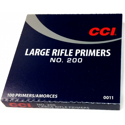 Amorces CCI 200 Large Rifle