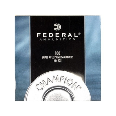 Amorces FEDERAL CHAMPION Small Rifle