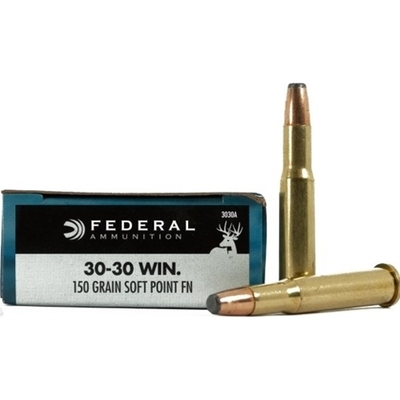 Cartouches FEDERAL Power Shok SP FN 150 gr   calibre .30-30