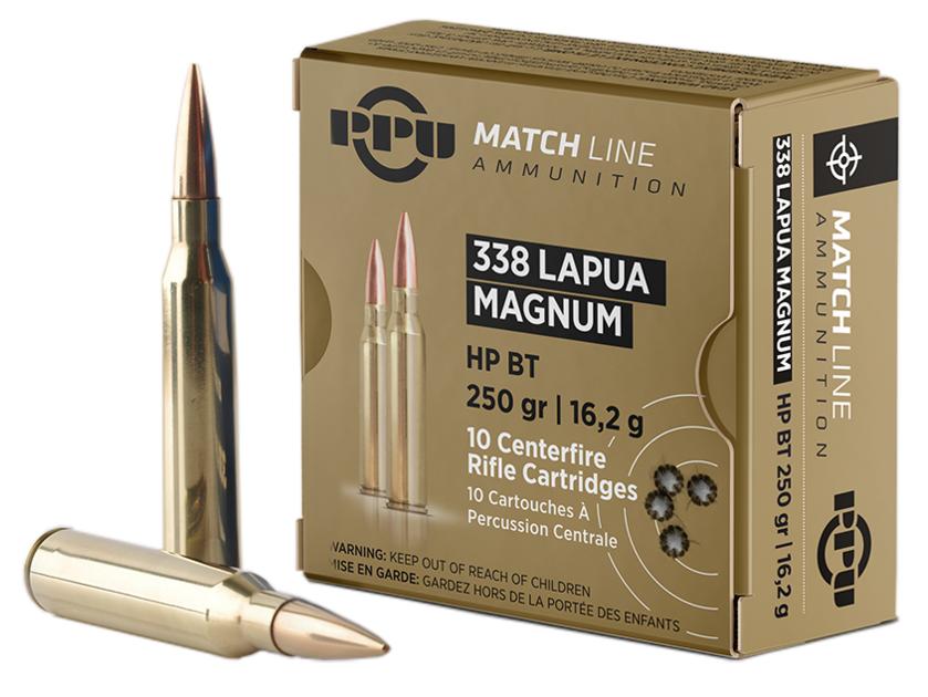 Partizan .338 LM HP BT Match 250gr