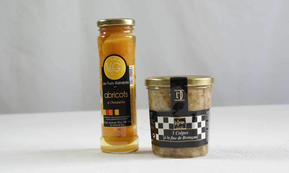 Crêpe à la fine de Bretagne et abricots à lAmaretto compression2