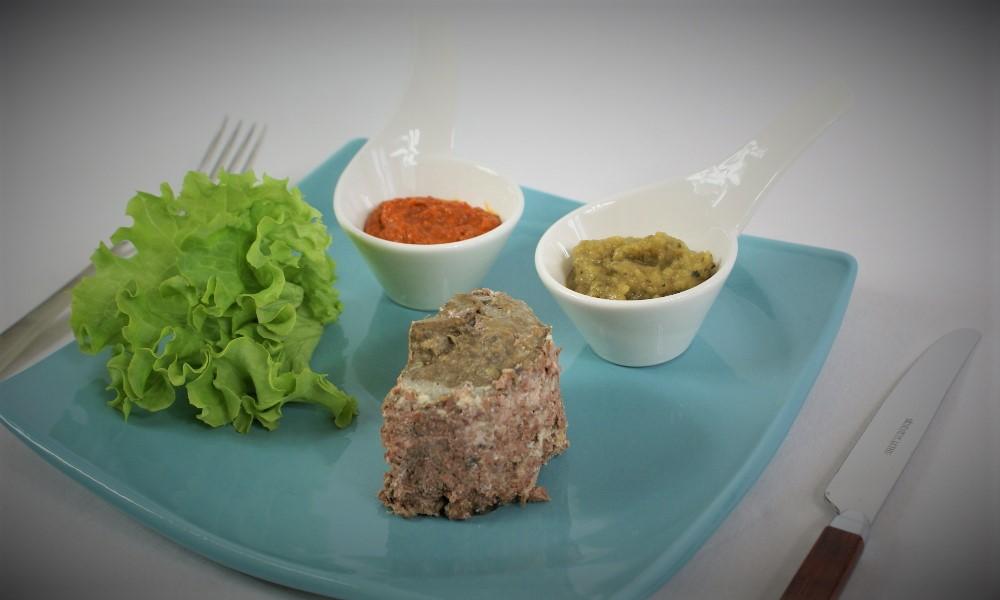 Terrine de chevreuil poivron mascarpone courgettes curry (2)