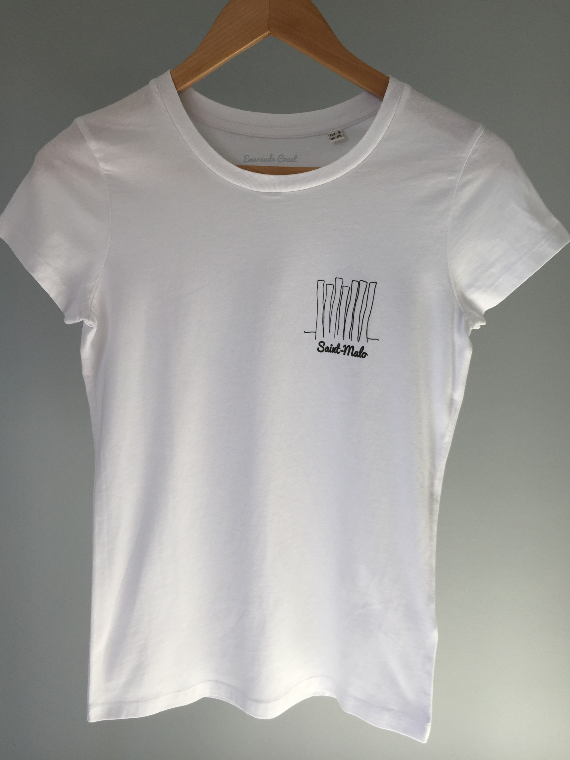 T-shirt Bio femme St-Malo Brise Lames