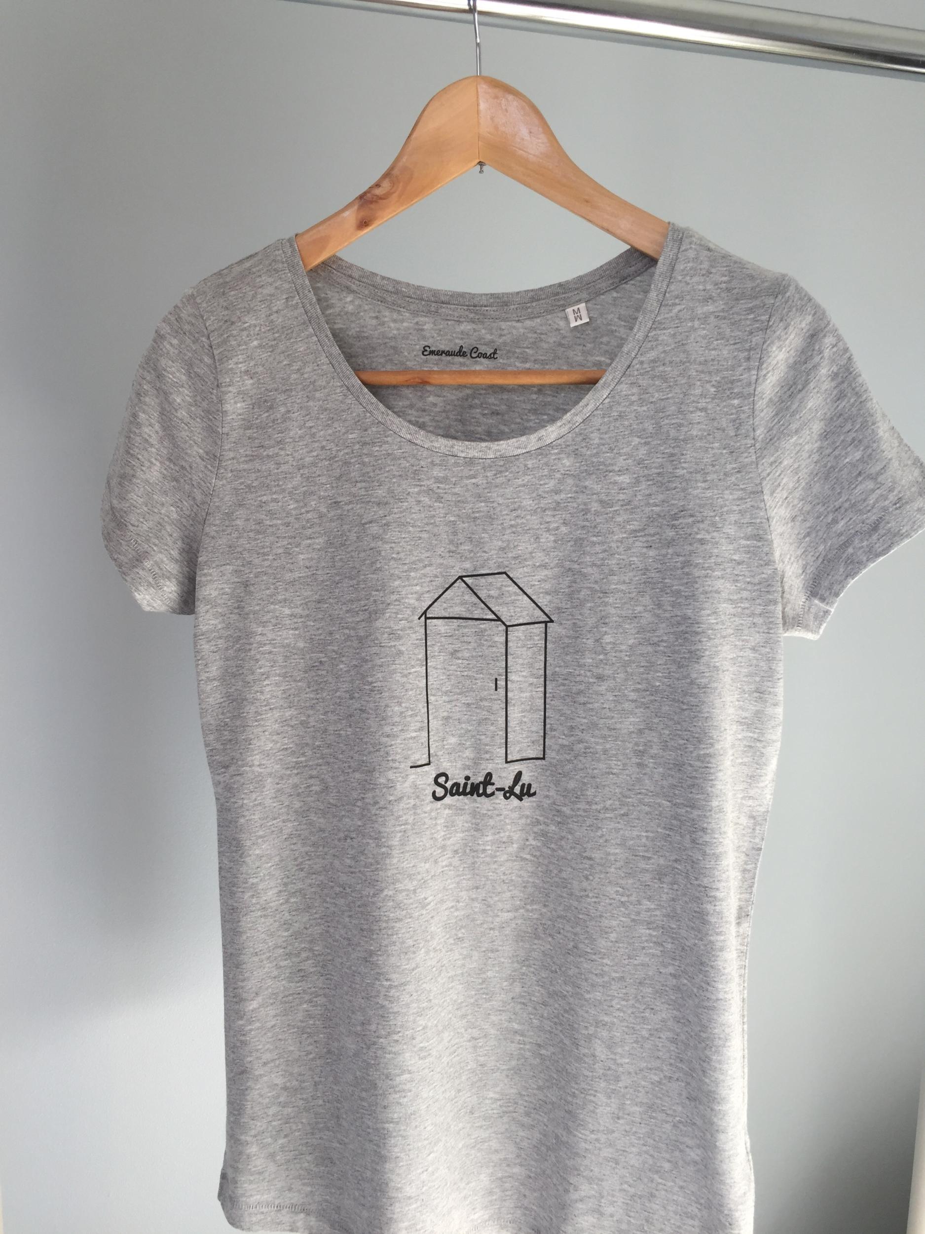 T-shirt Bio femme Saint-Lu