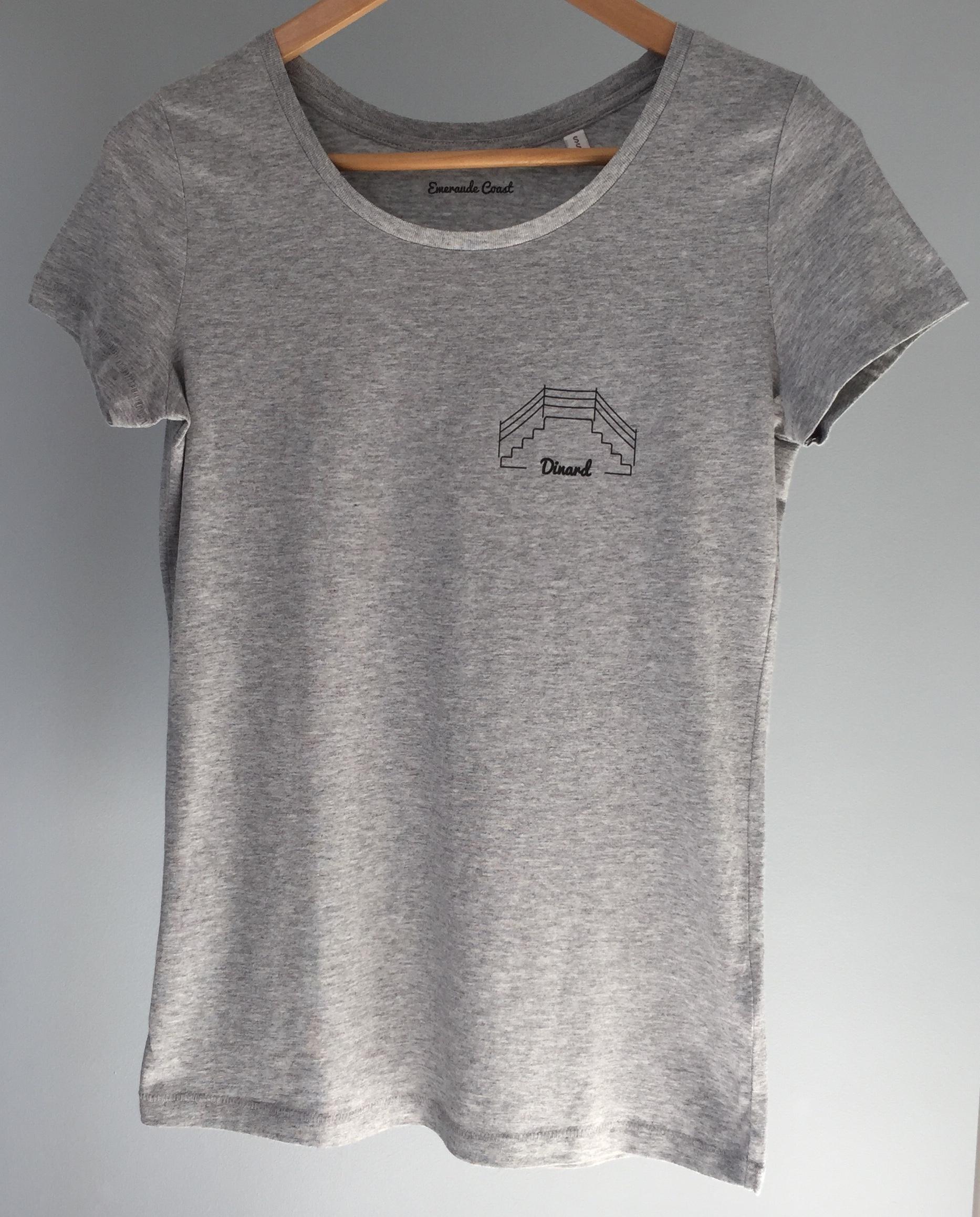 T-shirt femme Dinard Plongeoir