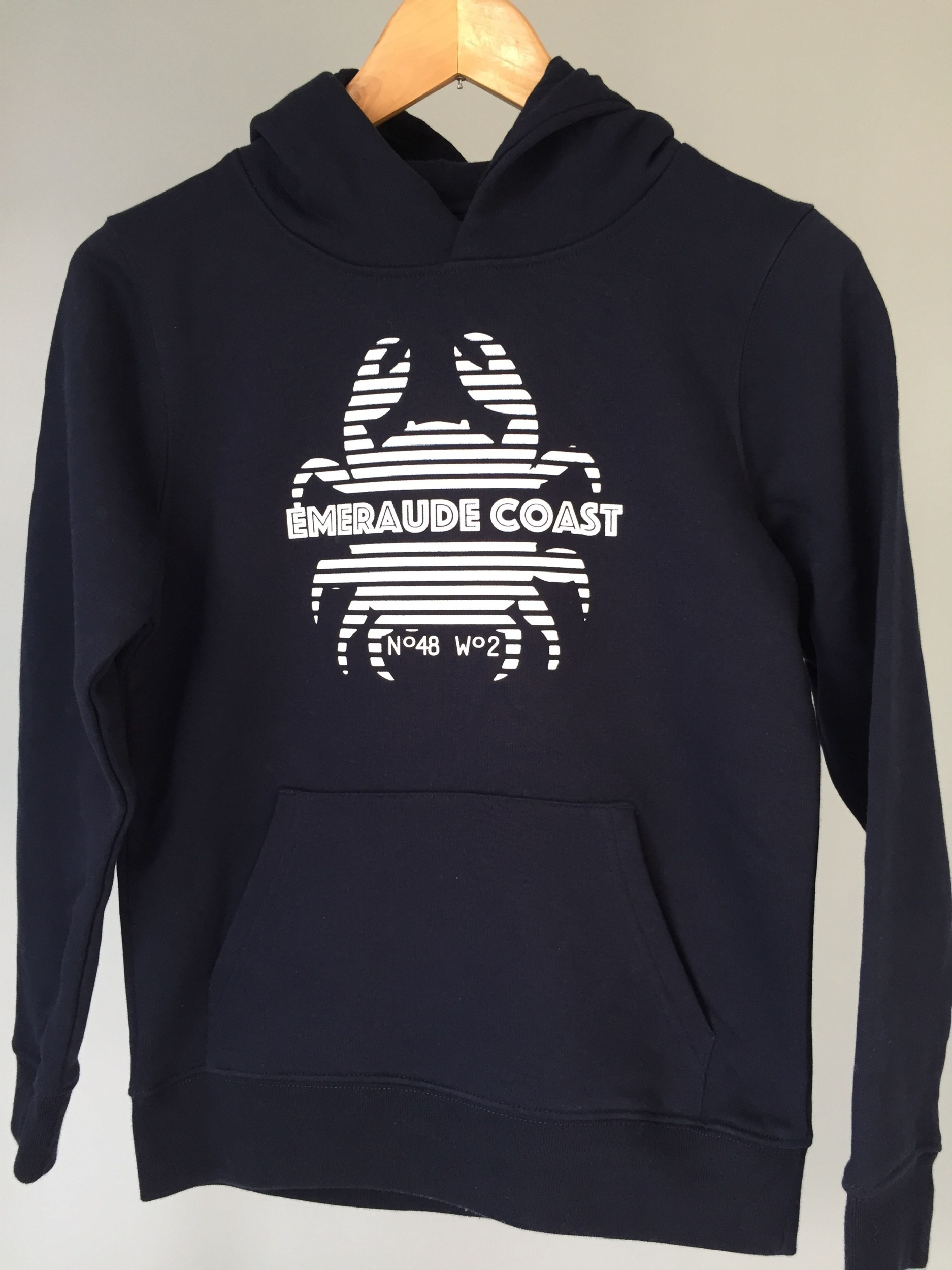 Sweat capuche Enfant Crabe