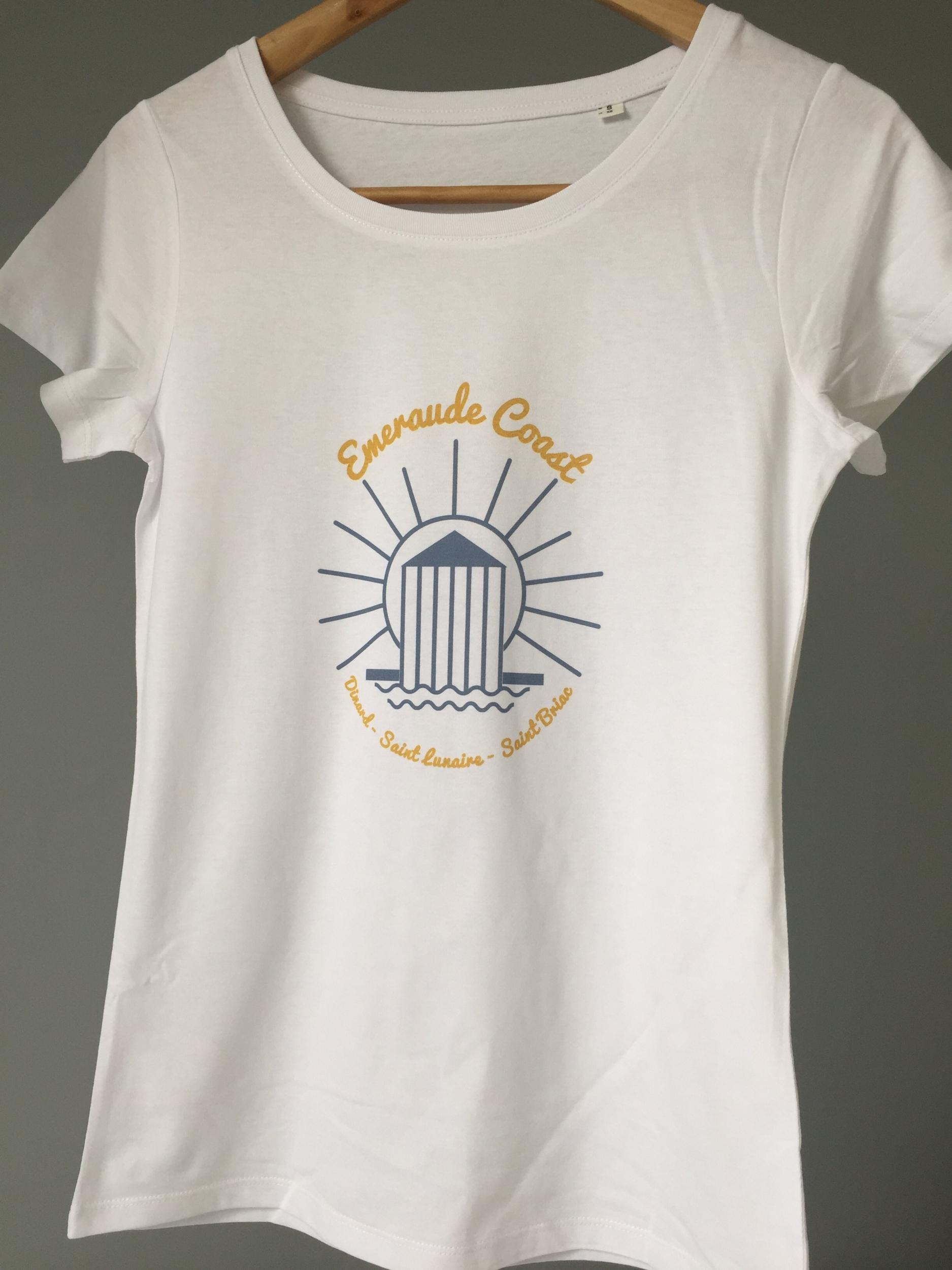 Teeshirt Femme Breton Soleil