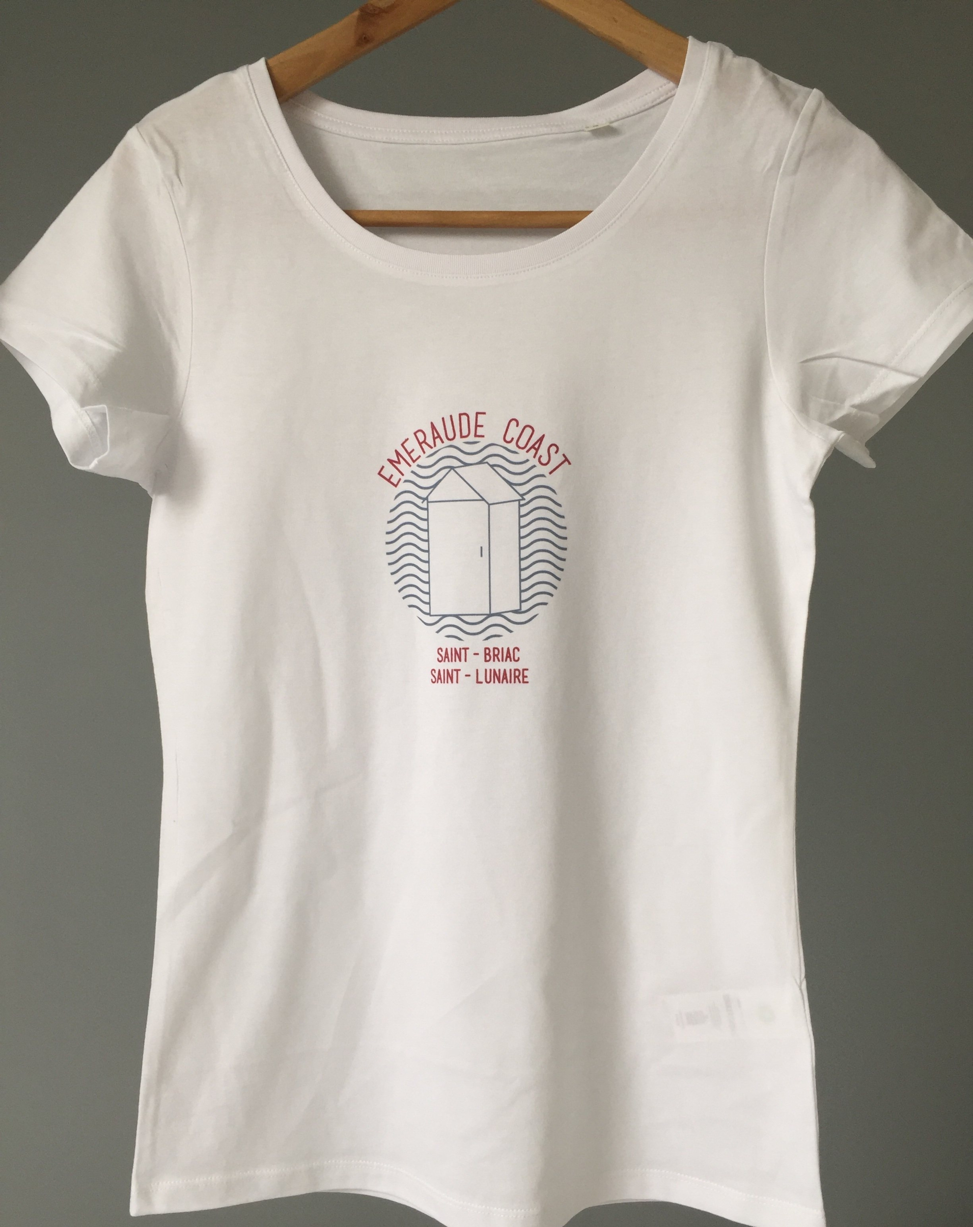 Teeshirt Breton Cabine Vagues
