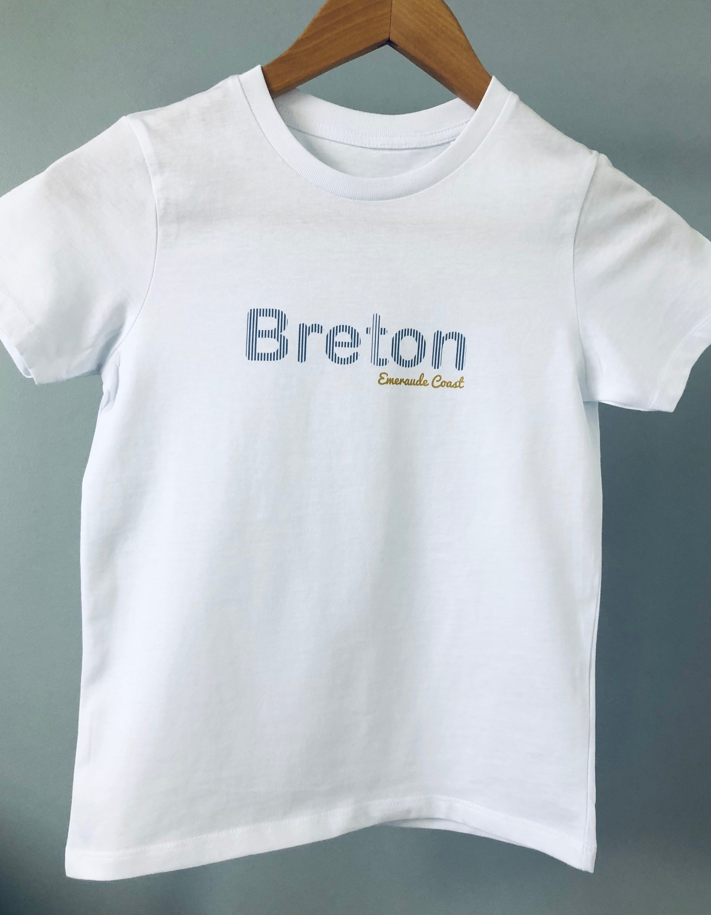 teeshirt breton emeraude coast compresse