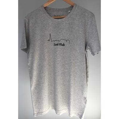 T-shirt Bio Homme Saint-Malo Vue