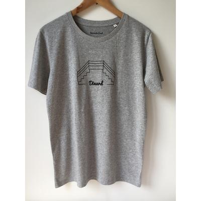 T-shirt Bio Homme Dinard Plongeoir