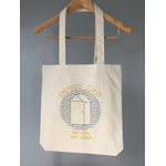 Totebag breton Emeraude Coast Cabine vague Saint Lunaire