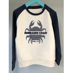 Sweat breton enfant Crabe bicolor compressed