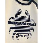 sweat emeraude coast crabe bicolor flocage-compressed