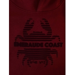 sweat breton emeraude coast crabe bordeau zoom
