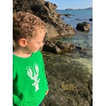 sweat vert enfant homard emeraude coast 3
