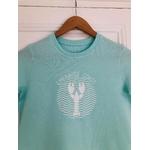 teeshirt enfant emeraude coast vert homard vague 3-compressed