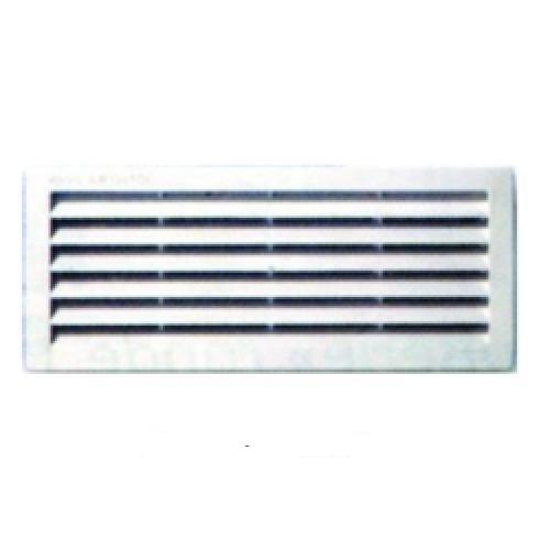 Grille a ration encastr e rectangulaire grilles d 39 a ration for Grille aeration fenetre hygroreglable