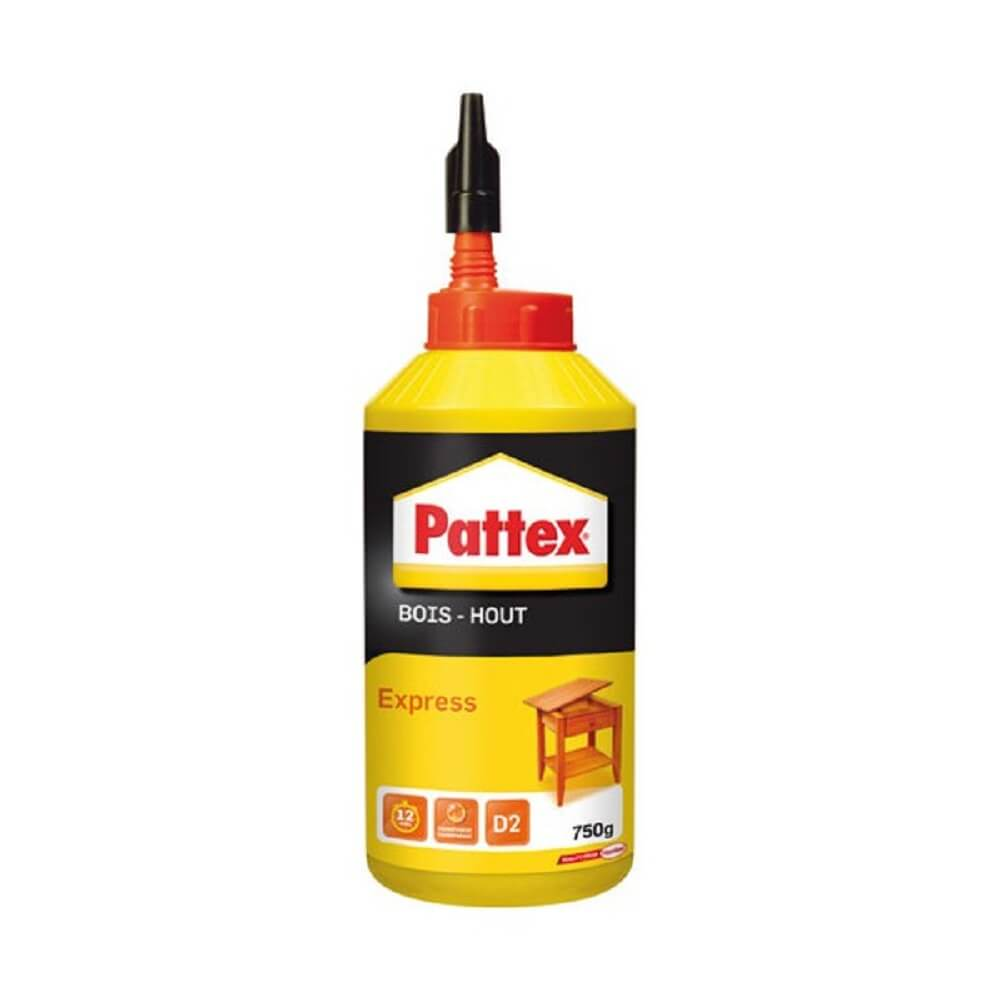 Pattex colle bois express bouteille 750g