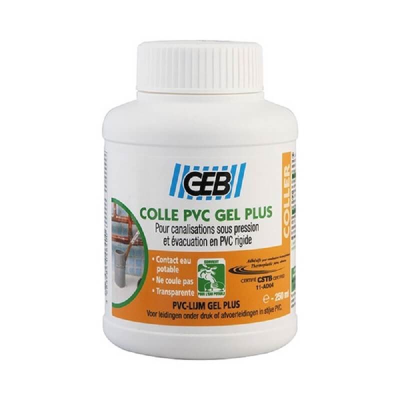 Colle PVC gel plus pot 250ml