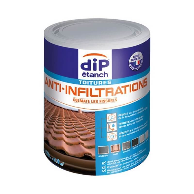 Dip multi usages anti infiltration 750ml gris