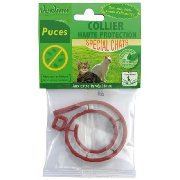 Collier puces insectifuge chats