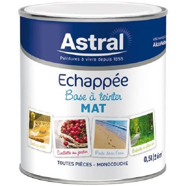 Echappée mat 0.5L base clear