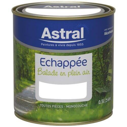 Echappée satin 0.5L blanc base white