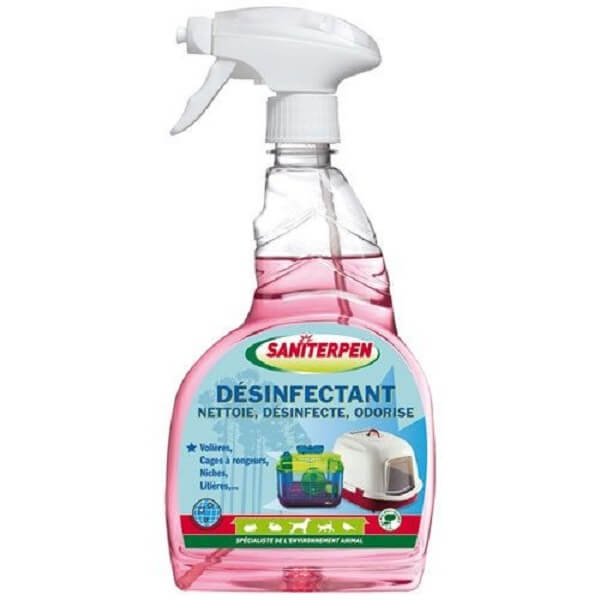 Désinfectant spray Saniterpen 750ml