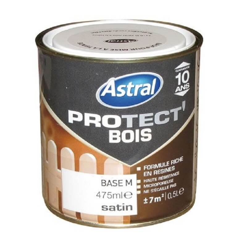 Protect bois satin base médium