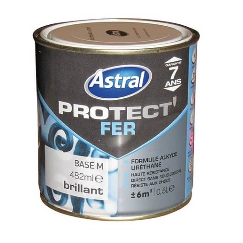 Peinture Protect\'fer brillante base medium