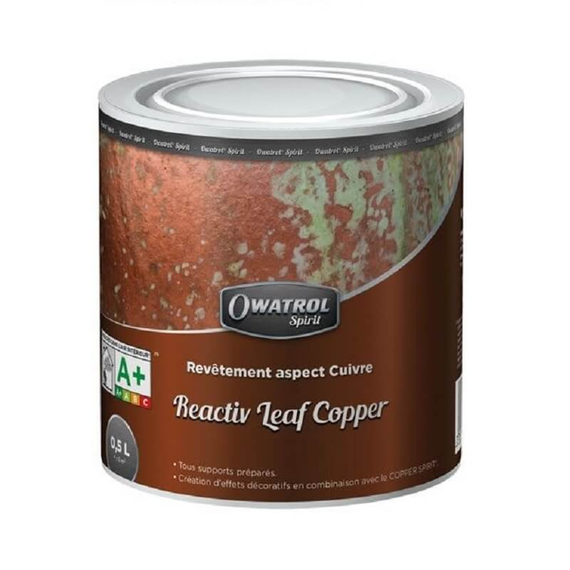Peinture technique reactive leaf copper 0.5l