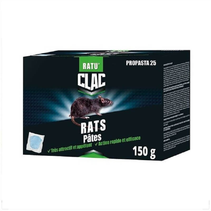 Raticide rats pâte 150g