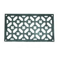 Grille fonte rectangulaire