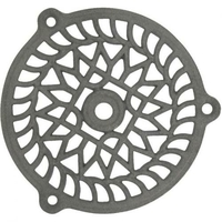 Grille fonte ronde