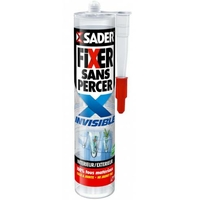 Colle Sader fixer sans percer invisible