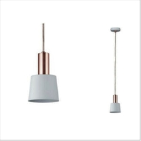 Luminaire en suspension Haldar 1 flamme