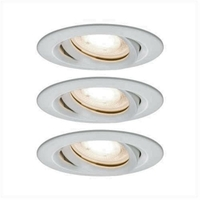 Encastrés LED Nova IP65 rond 7 W Kit de 3