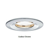 Encastrés LED Coin Slim IP65 rond 6,8 W chrome