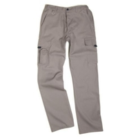 Pantalon multipoches gris