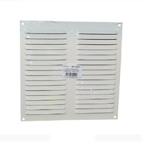 Grille alu blanche persiennes