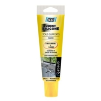 Mastic silicone tous supports